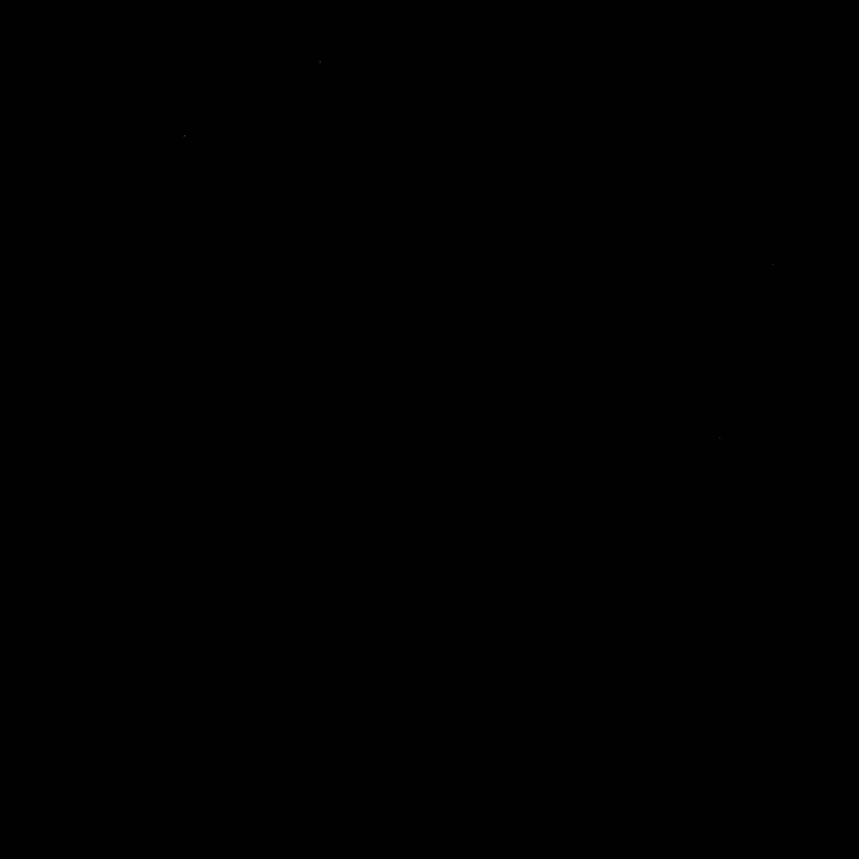 Círculo mágico de proteção 2º modelo preto para magia Goétia - Goecia de Salomão