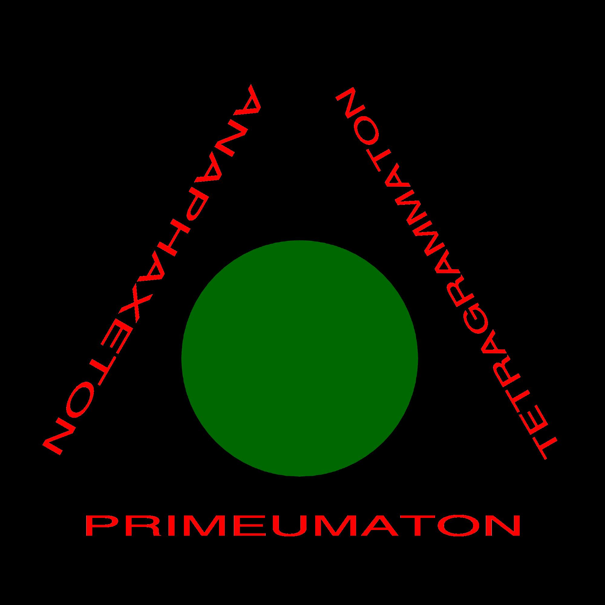 Triangulo de manifestação colorido para magia Goétia - Triângulo da arte para Goecia de Salomão