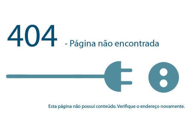 Erro 404 - Esta página não existe ou não possuí conteúdo